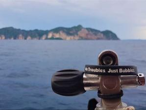 sea conditions and no troubles just bubbles band