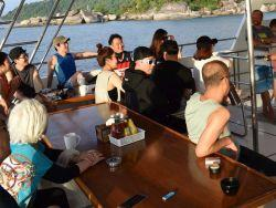 Dive briefing what to expect on a Similian liveaboard trip