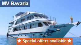 Bavaria liveaboard 5 percent discount for early booking before 3 months