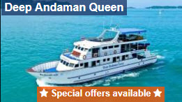Deep Andaman Queen liveaboard free nitrox or equipment rental for early booking