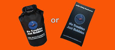 free drybag or beach towel