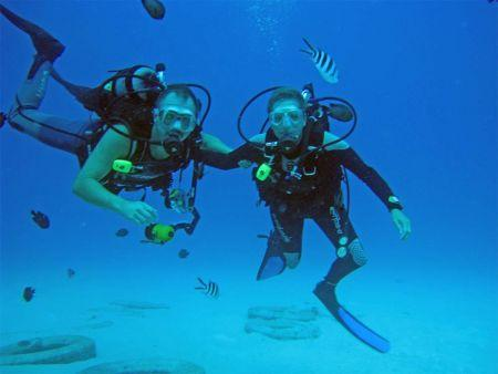 Henry-and-Tersia-at-Honeymoon-Bay-Koh-Similan-Thailand