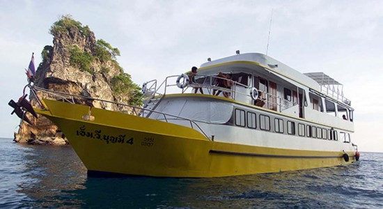Bunmee 4 Similan Liveaboard Scuba Diving Boat