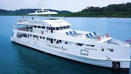 Deep Andaman Queen diving liveaboard